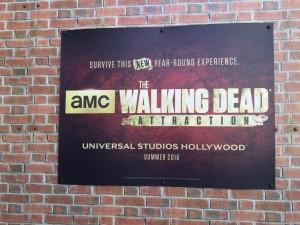 Walking Dead sign