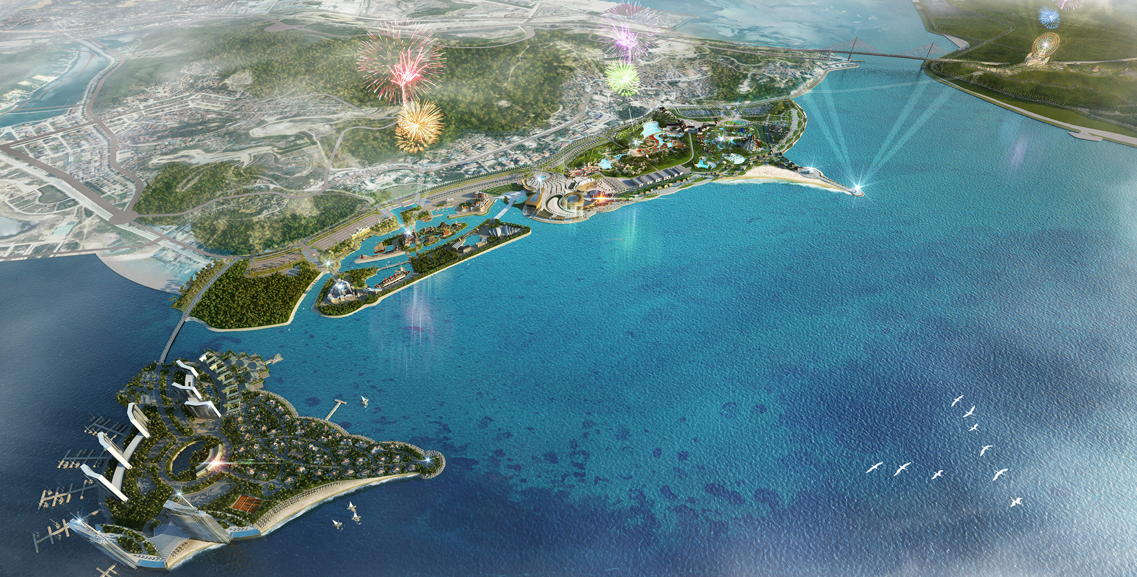 Ha Long Ocean Park - Wyatt Design Group