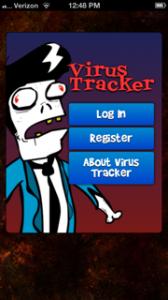 Zombie Tracker App